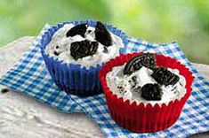 Whether the oven is otherwise occupied or you don't want to heat up the kitchen, these JELL-O No Bake OREO Cups are the ideal dessert for the oven-averse!
