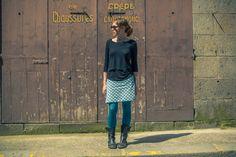 DIY jupe facile / coudre une jupe facile / DIY couture / sew / DIY mode