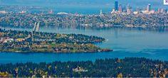 Seattle Area - Mercer Island, Seattle, Bellevue