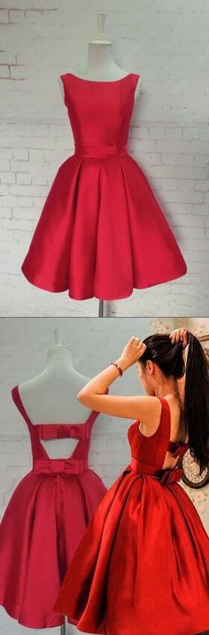 New prom Dresses,short Prom gowns,Sexy Homecoming Dress,Red Homecoming