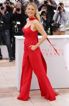 Blake Lively attends 'Cafe Society' photocall during the 69th Cannes Film Festival in France on May 11, 2016