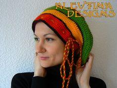 Rasta beret rasta tam rasta hat teens and adults rastafarian
