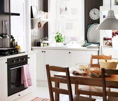Simple kitchen interior from #Ikea