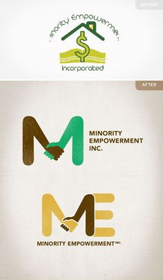 Our recent work:   Logo redesign for a non-profit organization providing minorities in low-income areas with access to educational and financial resources. We aimed to create a mark highlighting how the organization interacts with people, while maintaining a universal feel.  www.cheerscreative.com