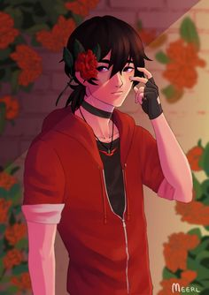 meerl: Red Camellia: You're a Flame in My Heart  Red camellias symbolize love, passion, and deep desire.
