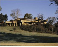 Taliesin. Frank Lloyd Wright. Home and Studio. Spring Green Wisconsin. 1911, 1914 and 1919. (rebuilt after fires)