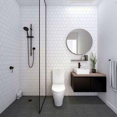 Find tile decorating ideas and inspiration including an all-white kitchen backsplash, a black tiled bathroom, subway tiles, and colorful bathroom tile designs from Instagram.