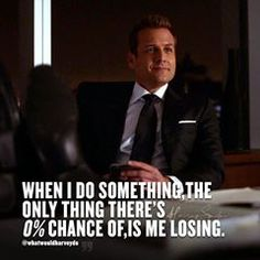 Image may contain: one or more people, suit and text Harvey Specter Suits, Suits Quotes, Suits Show, Suits Usa, Gabriel Macht, Quotes About God, Losing Me, Gentleman, Motivational