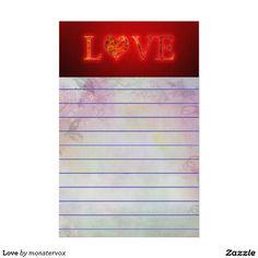 Love Stationery #Love #Heart #Relationship #Holiday #Valentine #Birthday #LetterHead #Stationery