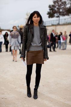 Melanie Huynh wears Celine