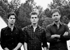 Alaric, Damon, Stefan! <3