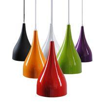 אורות תליון חדר אוכל מודרניים וצבעוניים חד-ראש מנורות LED בר אור Creative אמנויות (סין (יבשת))