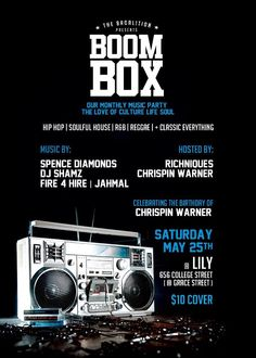 May 25, 2013 Music Party, Boombox, House Music, I Party, Reggae, Hip Hop, Parties, Entertaining, June 22