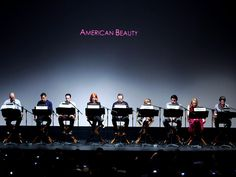BRYAN CRANSTON & CHRISTINA HENDRICKS DO A LIVE TABLE READ OF AMERICAN BEAUTY
