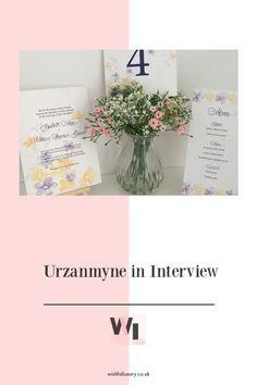Urzanmyne in Interview - The Wishful Luxury Kew Gardens, Social Media Site, Bespoke Design, Describe Yourself, Wedding Stationary, Spray Painting, Luxury Life, Signage, Screen Printing