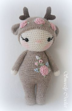 Kawaii Crochet, Cute Crochet, Crochet Baby, Diy Crafts Crochet, Yarn Crafts, Crochet Projects, Crochet Patterns Amigurumi, Crochet Dolls, Craft Patterns