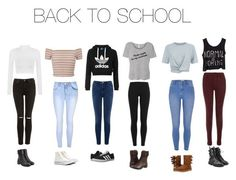 quotback to school outfit guide quot from liked on poly Cute Teen Outfits, Teenage Girl Outfits, Teenager Outfits, Sport Outfits, Teenage Clothing, Back To School Outfits For Teens, Mom Outfits, Teen Girl Clothes, Back To School Clothes