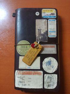 カスタマイズ   TRAVELER'S notebook みんなの投稿 - MIDORI