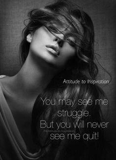 Ill fight till my last breath!     FB/Attitude to Inspiration...£