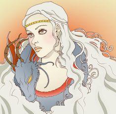 Daenerys Targaryen - Game of Thrones - Luthien90.deviantart.com