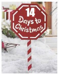 14 days to Christmas
