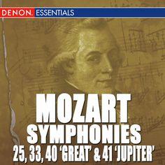 Symphony No. 25 In G Minor, K. 183: I. Allegro Con Brio - Mozart...: Symphony No. 25 In G Minor, K. 183: I. Allegro Con Brio -… #Classical