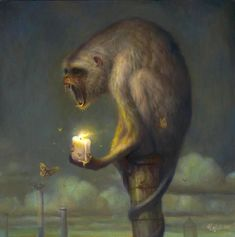 Surrealism and Visionary art: Martin Wittfooth