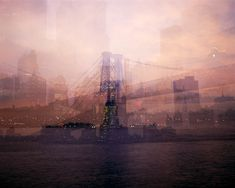 multiple exposure photographs, capturing big city life from all over the world, from photographer Doug Keyes VIA HonestlyWTF