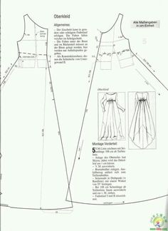 Evening gown pattern