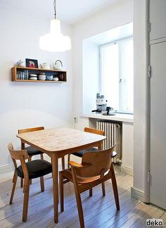 Dining Room | Scandinavian Deko - this style of decor works amazingly with prefab mini homes!