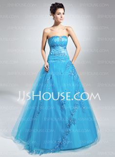 Quinceanera Dresses - $154.49 - Ball-Gown Sweetheart Floor-Length Satin Tulle Quinceanera Dress With Lace Beading Sequins (021015113) http://jjshouse.com/Ball-Gown-Sweetheart-Floor-Length-Satin-Tulle-Quinceanera-Dress-With-Lace-Beading-Sequins-021015113-g15113