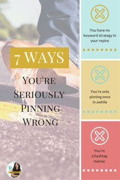 Unfortunately, I am seeing businesses making the same mistakes over and over and over on Pinterest while attempting to cash in on Pinterest's success and sadly because of these mistakes they are setting themselves up for frustration and failure from the get-go. Avoid the frustration of these mistakes.