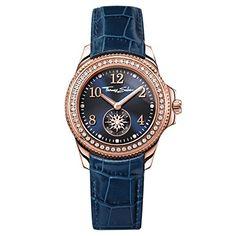 efbc20f8b319 Thomas Sabo Glam   soul blue watch with zirconia