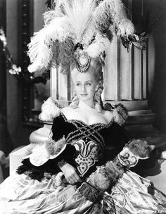 "Norma Schearer as ""Marie Antoinette"" in the 1938 film of the same name - Costume Designer: Adrian"