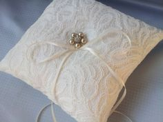 Hey, I found this really awesome Etsy listing at https://www.etsy.com/listing/168032758/ivory-champange-ring-bearer-pillow-lace