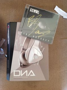 Won these signed DNA headphones and Locnville's new CD The Odyssey signed by the boys haha
