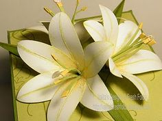 Paper lilies!