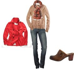 """""""Fall Casual"""" by dawnhiggs on Polyvore"""
