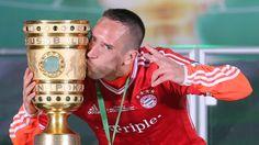 Franck Ribéry - FC Bayern München - DFB-Pokalsieger 2013  #Triple
