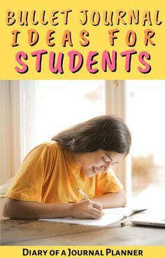 The 19 bullet journal layouts all students need to know if you're using a bullet journal for school work. #forstudents #schoolhacks #bulletjournallayouts #bulletjournalstudents