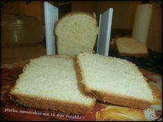 ΠΛΑΘΩ ΖΥΜΑΡΑΚΙΑ ΜΕ ΤΑ ΔΥΟ ΧΕΡΑΚΙΑ ..: ΨΩΜΙ για tost Cookbook Recipes, Cooking Recipes, Bread, Food, Chef Recipes, Brot, Essen, Baking, Eten