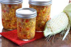 Homemade Sweet Corn Relish