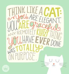 Quotes for cat lovers.
