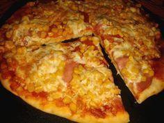 Lusta pizzatészta bögrésen, kelesztés, dagasztás nélkül 10 perc alatt