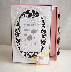 Blog tonic: You are one of a kind - a card from Edna