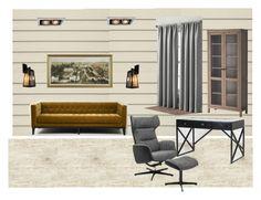 """кабинет"" by margarita-shoshina on Polyvore featuring interior, interiors, interior design, дом, home decor, interior decorating и KARE"
