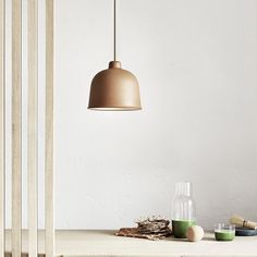 We Love this new GRAIN pendant from Mutto. Made from an innovative mixture of bamboo fibres and binder. The original composite used in the lamps construction adds an unexpected softness and warmth. Ideal for an island bench feature bedroom sides or office.  We have stock of the natural (nature) and Dusty red.  Now in store and online. OPEN TILL 5pm TODAY. #innovativematerials #lightingdesign // by lightlydesign