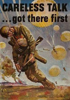 WWII Propaganda Careless Talk