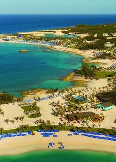 Great Stirrup Cay, Berry Islands, Bahamas, Beaches
