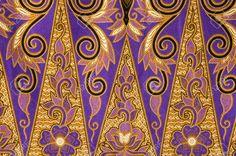 beautiful of abstract batik with floral patterns Stock Photo Border Design, Pattern Design, Java, Malaysian Batik, Batik Solo, Batik Art, Floral Motif, Floral Patterns, Old Art